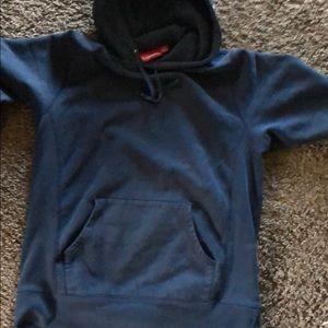 Black supreme hoodie